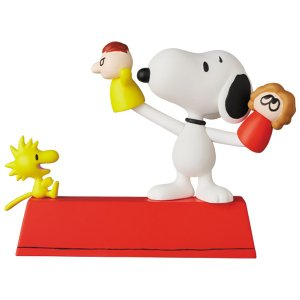 UDF PEANUTS シリーズ11 PUPPET SHOW SNOOPY & WOODSTOCK|project1-6