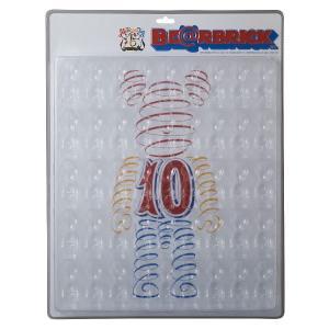 BE@RBRICK専用ディスプレイブリスターボード 100%サイズ専用 メディコム・トイ15周年記念限定版|project1-6