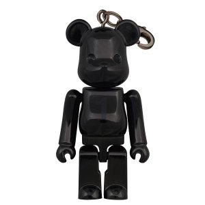 Birthday BE@RBRICK NOIR BLACK CHROME|project1-6