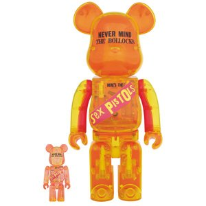 BE@RBRICK Sex Pistols Clear Ver.100% & 400%|project1-6