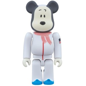 BE@RBRICK ASTRONAUTS SNOOPY 100%|project1-6