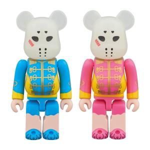 BE@RBRICK 仮面女子 ブルー&ピンク 2PACK|project1-6