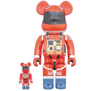 BE@RBRICK SPACE SUIT ORANGE Ver.100% & 400%|project1-6