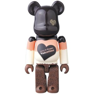 2017 Valentine BE@RBRICK Mousse Chocolat Ver.100%|project1-6