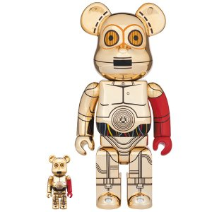 BE@RBRICK C-3PO(TM) THE FORCE AWAKENS Ver. 100% & 400%|project1-6