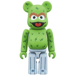 BE@RBRICK OSCAR THE GROUCH 100%|project1-6