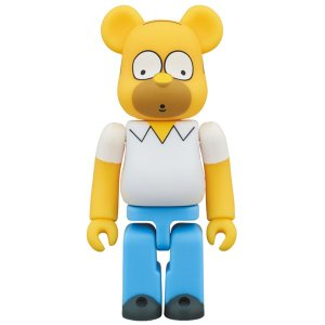 BE@RBRICK HOMER SIMPSON 100%|project1-6