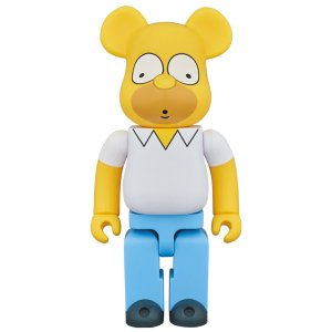 BE@RBRICK HOMER SIMPSON 400%|project1-6|01