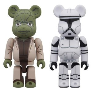 YODA(EP2) & CLONE TROOPER(TM)(EP2) BE@RBRICK STAR WARS 2PACK|project1-6