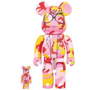 BE@RBRICK ANDY WARHOL Camo Ver. 100% & 400%|project1-6