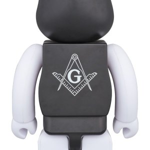 BE@RBRICK FREEMASONRY × fragmentdesign 100% & 400% BLACK|project1-6|02