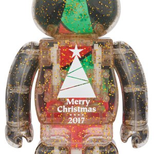 2017 Xmas BE@RBRICK 100% & 400%セット Stained-glass tree Ver.2|project1-6|02
