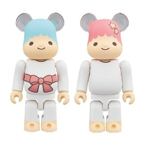 BE@RBRICK Little Twin Stars キキ&ララ 100%|project1-6