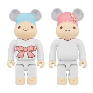 BE@RBRICK Little Twin Stars キキ&ララ 400%|project1-6