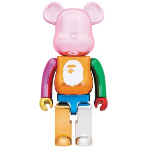 A BATHING APE(R) 25th ANNIV. MULTI COLOR BE@RBRICK 1000%|project1-6