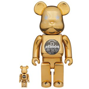 BE@RBRICK atmos GOLD CHROME 100% & 400%|project1-6