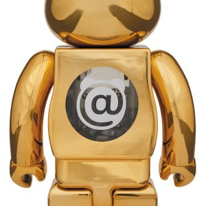 BE@RBRICK atmos GOLD CHROME 100% & 400%|project1-6|02