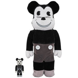 BE@RBRICK MICKEY MOUSE (VINTAGE B&W Ver.) 100% & 400%|project1-6