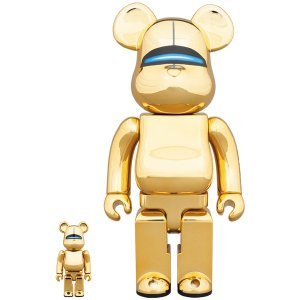 SORAYAMA SEXY ROBOT GOLD BE@RBRICK 100% & 400%|project1-6