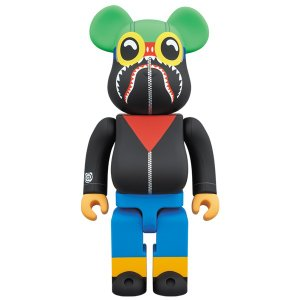 A BATHING APE(R) × HEBRU BRANTLEY × SOCIAL STATUS BE@RBRICK 400%|project1-6