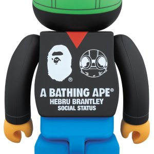A BATHING APE(R) × HEBRU BRANTLEY × SOCIAL STATUS BE@RBRICK 1000%|project1-6|02