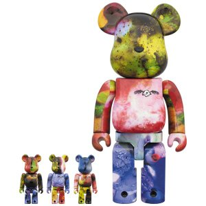 BE@RBRICK PUSHEAD 3 different colors 100% & 400% 4 PC SET《2018年11月発売・発送予定》|project1-6