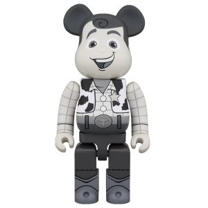 BE@RBRICK WOODY B&W Ver. 400%|project1-6