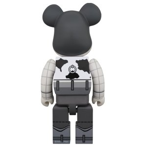 BE@RBRICK WOODY B&W Ver. 400%|project1-6|02