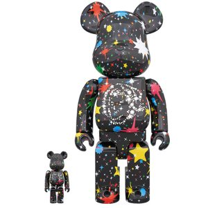 BE@RBRICK BILLIONAIRE BOYS CLUB STARFIELD BLACK 100% & 400%|project1-6