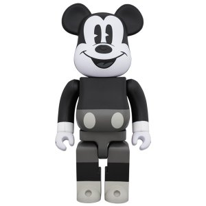 BE@RBRICK MICKEY MOUSE (B&W Ver.) 400% project1-6