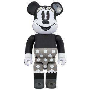 BE@RBRICK MINNIE MOUSE (B&W Ver.) 400%|project1-6