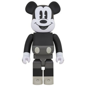 BE@RBRICK MICKEY MOUSE (B&W Ver.) 1000% project1-6