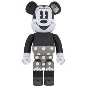 BE@RBRICK MINNIE MOUSE (B&W Ver.) 1000% project1-6