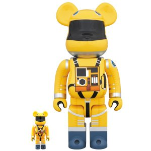 BE@RBRICK SPACE SUIT YELLOW Ver.100% & 400%《2019年5月発売・発送予定》|project1-6