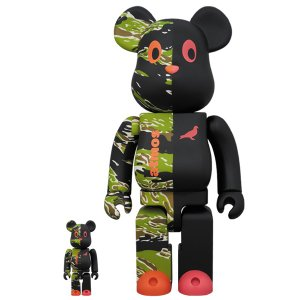 BE@RBRICK × atmos × STAPLE #2 100% & 400%|project1-6
