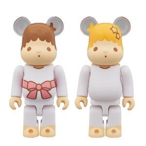 BE@RBRICK Little Twin Stars キキ & ララ セット 100%(レトロカラーVer.) 2 PACK|project1-6