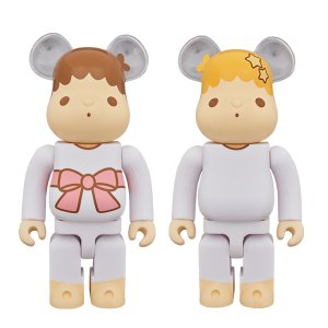 BE@RBRICK Little Twin Stars キキ & ララ セット 400%(レトロカラーVer.) 2 PACK|project1-6