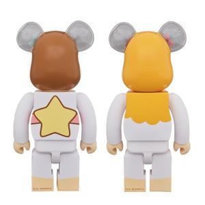 BE@RBRICK Little Twin Stars キキ & ララ セット 400%(レトロカラーVer.) 2 PACK《2019年3月発売・発送予定》|project1-6|02