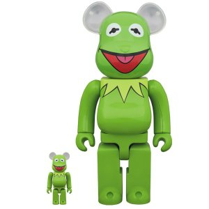 BE@RBRICK Kermit The Frog 100% & 400%《2019年3月発売・発送予定》|project1-6