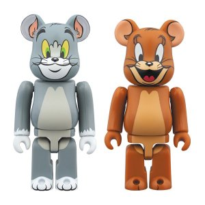 BE@RBRICK TOM and JERRY 2PACK|project1-6
