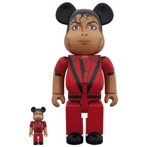 BE@RBRICK Michael Jackson Red Jacket 100% & 400%|project1-6|01