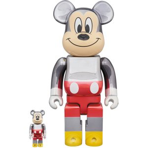 BE@RBRICK fragmentdesign MICKEY MOUSE COLOR Ver.100% & 400%|project1-6