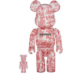 BE@RBRICK atmos × Coca-Cola 100% & 400% CLEAR BODY|project1-6