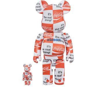 BE@RBRICK atmos × Coca-Cola 100% & 400% CHECKERBOARD|project1-6