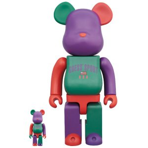 BE@RBRICK Guess Sport Logo 100% & 400%|project1-6