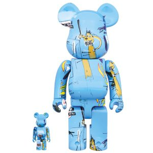 BE@RBRICK JEAN-MICHEL BASQUIAT #4 100% & 400%《2019年9月発売・発送予定》|project1-6
