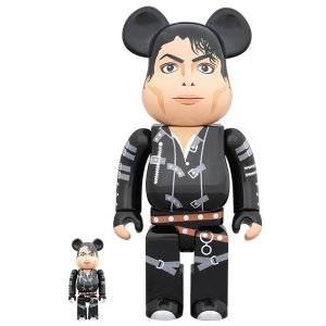 "BE@RBRICK Michael Jackson ""BAD"" 100% & 400%