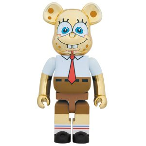 BE@RBRICK SpongeBob GOLD CHROME 1000%《2019年10月発売・発送予定》|project1-6