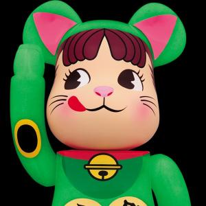BE@RBRICK 招き猫 ペコちゃん 蓄光 1000%|project1-6|03