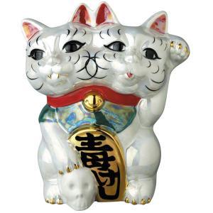 魔よけ猫(ちみどろ齋いづも作)(パール)《2019年11月下旬発送予定》 project1-6